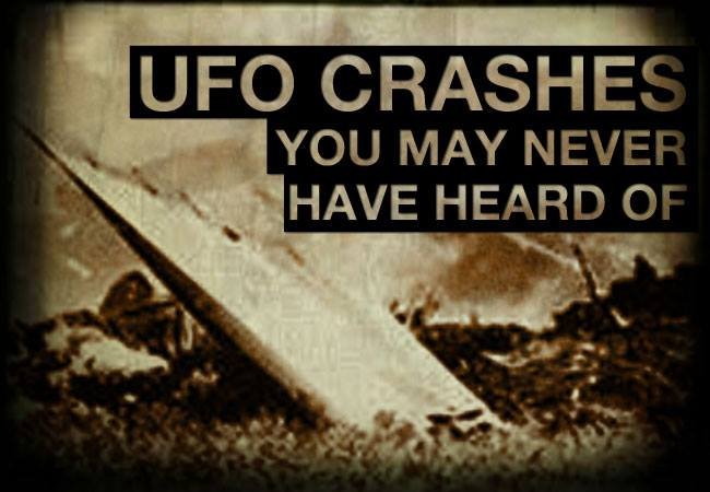 UFO CRASHES YOU MAY NEVER HAVE HEARD OF